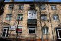 Kaune liepsnojo daugiabutis, kuriame gyvena L.Stankūnaitės tėvai