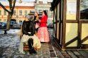 Rotušės aikštėje įsikūrė Kalėdų miestelis
