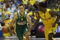"""Eurolyga: """"Žalgiris"""" pralaimėjo """"Maccabi Electra"""" 70:86"""