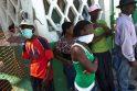 Choleros gniaužtuose atsidūrusius haitiečius kausto baimė ir kančia