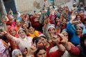 Indijos Kašmyre suintensyvėjus neramumams žuvo 17 žmonių