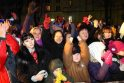 Kaune įžiebta pirmoji šalyje kalėdinė eglutė