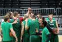 P.Jankūnas: Bamberge mus tenkins tik pergalė