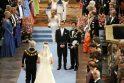 Švedijos sosto įpėdinė ir jos išrinktasis pelnė žmonių simpatijas paprastumu