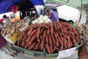 Daržovių kainą Kalvarijų turguje lemia ir pardavėjos nuotaika