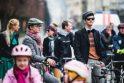 Kauno dviratininkų parade – daugiau nei šimtas dalyvių