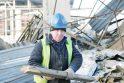 Klaipėdos arena – jau be griuvėsių kaimynystės