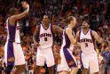 """NBA Vakarų konferencijos finale """"Suns"""" įveikė čempionus"""