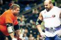 Sporto festivalyje galiūnas Ž.Savickas kovos dėl pergalės, vyks imtynių gigantų kovos