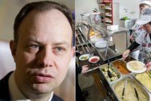 A. Veryga nebeprileis verslininkų prie mokyklų valgiaraščių
