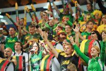 Pirmoji nesėkmė sirgalių optimizmo nepalaužė: krepšininkų triumfu tiki dauguma