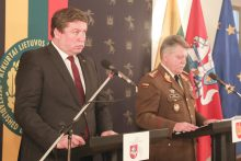 R. Karoblis: kariuomenė visada buvo valstybės garantas