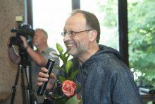 Premija įteikta muzikologui Eirimui Veličkai.
