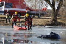 Perspėja neskubėti lipti ant ledo <span style=color:red;>(nuskendo jau 6 žmonės)</span>