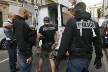 Prancūzijos specialiosios tarnybos su nerimu laukia šio vakaro varžybų