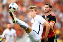 Belgijos futbolo rinktinės pergalė kontroliniame mače