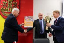 Klaipėdos tarybos posėdis prasidėjo ovacijomis sportininkams