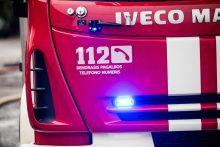 Magistralėje Vilnius – Klaipėda liepsnojo automobilis, rastas vyro lavonas