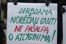 Mažai uždirbančių darbuotojų dalis Lietuvoje – viena didžiausių ES