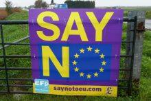 Išaugęs imigrantų srautas Britanijoje kursto euroskeptiškas nuotaikas