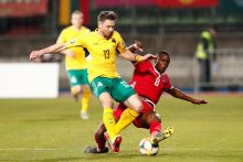 Futbolas: Liuksemburgas – Lietuva