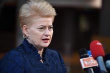 D. Grybauskaitė: reikia nuspręsti, ar didinti ES biudžetą, ar mažinti išlaidas