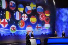 """Paryžiuje ištraukti UEFA """"Euro 2016"""" futbolo čempionato burtai"""