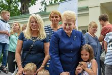 Įsivaikinusių šeimų susitikimas Prezidentūroje