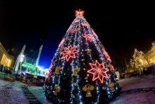 Kalėdos sostinėje vilios cinamono kvapu