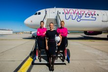 "Futbolo čempionato rezultatus ""Wizz Air"" skelbs skrydžio metu"