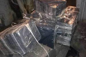 Šilumvežyje gabenamos kontrabandos vairuotojai neslėpė