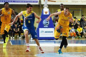 Graikijos krepšinio klubui T. Delininkaitis pelnė dešimt taškų