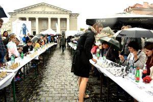 Šachmatų šventėje – didmeistrių iššūkis vilniečiams
