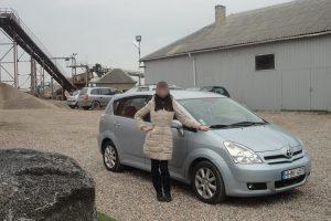 Pajūryje pavogtas automobilis