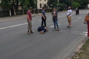 Po konflikto autobuse piliečiui prireikė medikų