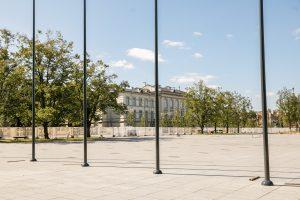 Paaiškėjo, kada bus atidaryta atnaujinta Lukiškių aikštė