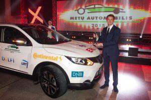 """""""Metų automobilis 2015"""" apdovanojimuose – """"Nissan Qashqai"""" pergalė"""