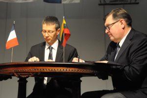 Gimnazija stiprina Kauno ir Prancūzijos ryšius