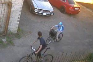 Kauno centre – įžūli vagystė (gal atpažįstate įtariamuosius?)
