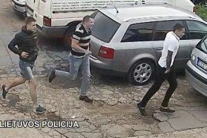 Padėkite rasti jaunuolius, užpuolusius ir apšaudžiusius vyrą