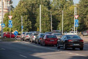 Vilniaus žiedinėse sankryžose įsigaliojo pokyčiai