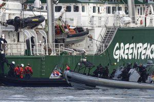 """Žaliųjų organizacija kritikuoja laivus """"Margiris"""" ir """"Kovas"""""""