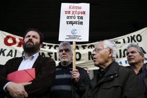 Graikijos žurnalistai nutraukė darbą, protestuodami prieš pensijų reformą