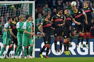Vokietijos futbolo pirmenybių rungtynėse – net aštuoni įvarčiai