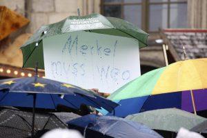 Vokietijos suvienijimo minėjime – įžeidimai A. Merkel