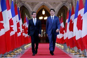 Kanada ir Prancūzija stiprins bendradarbiavimą kovoje su terorizmu