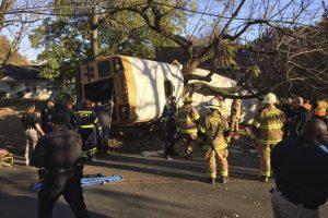 JAV per mokyklos autobuso avariją žuvo keli vaikai