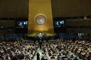 A. Guterresas prisaikdintas nauju JT generaliniu sekretoriumi