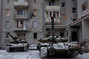 Lietuva skirs nuo karo nukentėjusiai Avdijivkai 80 tūkst. eurų