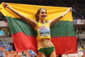 A. Palšytė tapo Europos čempione